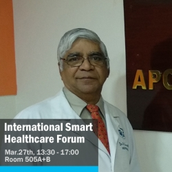 Dr. Ganapathy Krishnan, Director, Apollo Telemedicine Networking Foundation, India