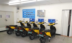 URDA cloud sharing electric motorcycle leasing system