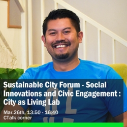 Jan Ramos Pandia, Head of Public Affairs, QLUE Smart City, Indonesia